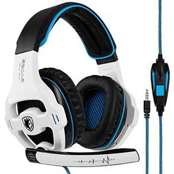 SADES SA810 Stereo Gaming Headset for PS4, PC, Xbox One Cont