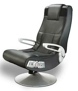 X Rocker SE 2.1 Black Leather Video Gaming Chair for Adult,