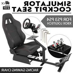 Simulator Cockpit Driving Seat Gaming Chair Compatible With