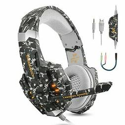 BGOOO Stereo Gaming Headset for PS4, PC, Xbox One,Profession