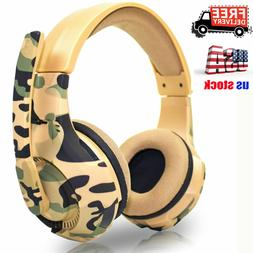 Stereo Gaming Headsets Headphones For PS4 Xbox one PC Laptop