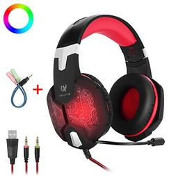 Gaming Headset with Mic for PC Mac Laptop PS4 Xbox one Ninte