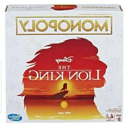THE LION KING Monopoly Board Game Special Edition w/Simba Na