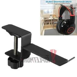 Under Desk Headphone Stand Gaming Headset Hanger Mount Unive