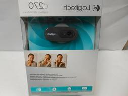 Logitech 3MP US 2.0 HD 720p Webcam C270