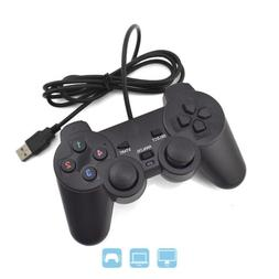 USB PC Computer Game Hand Wired Gamepad Controller Joystick