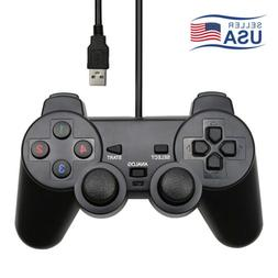 USB PS2/PC Computer 1.5m Wired Gamepad Game Controller Joyst