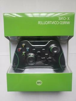 USB Wired Game Controller Gamepad Joystick Green Line For Mi
