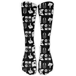 Video Game Weapon Funny Gamer Classics Stockings, Great Qual