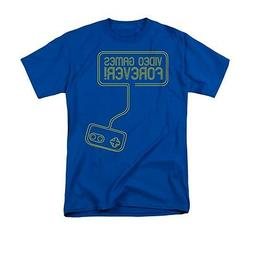 VIDEO GAMES FOREVER Novelty Men's Graphic Tee Shirt 4XL