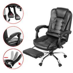 White Gaming Chair High-back Computer Chair Ergonomic Design