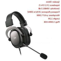 Wired Headset Gamer PC 3.5mm PS4 Headsets Surround Sound & H
