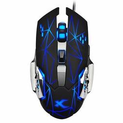 Wired Laser Gaming Mouse With Programmable Buttons High Qual