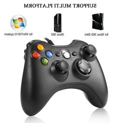 Wired USB Game Controller Joystick for Microsoft Xbox 360 /