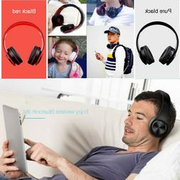 Wireless Bluetooth Gaming Headset Stereo Headphone Mic For P