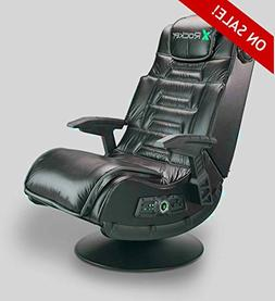 Wireless Gaming Chair Seat Black Leather Faux PC Computer Vi
