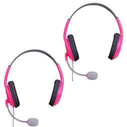 HDE Headset for Xbox 360 Console and Live Service Two Pack H