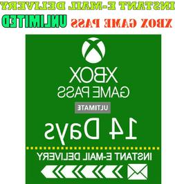 Xbox Live Gold +  Xbox Game PASS Ultimate 14 Day 2 Weeks INS