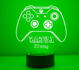 XBox Personalized LED Gaming Room XBox One Controller Night