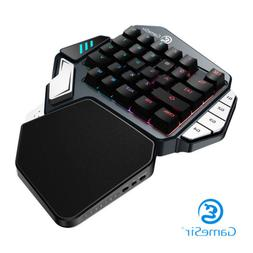 GameSir Z1 Gaming Keyboard One-handed Kailh Blue Mechanical